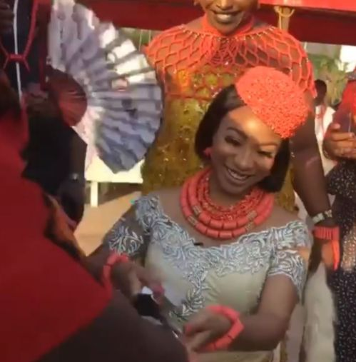 "Tonto Dikeh conferred with Chieftaincy title ""Adadioranmma 1 Of Nollywood"""