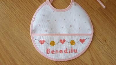 Cross Stitch Baby Gift Set
