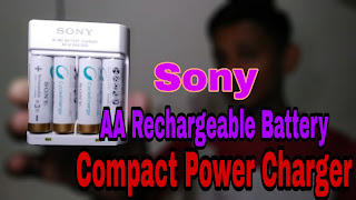 Sony AA Rechargeable Battery | Compact Power-Charger