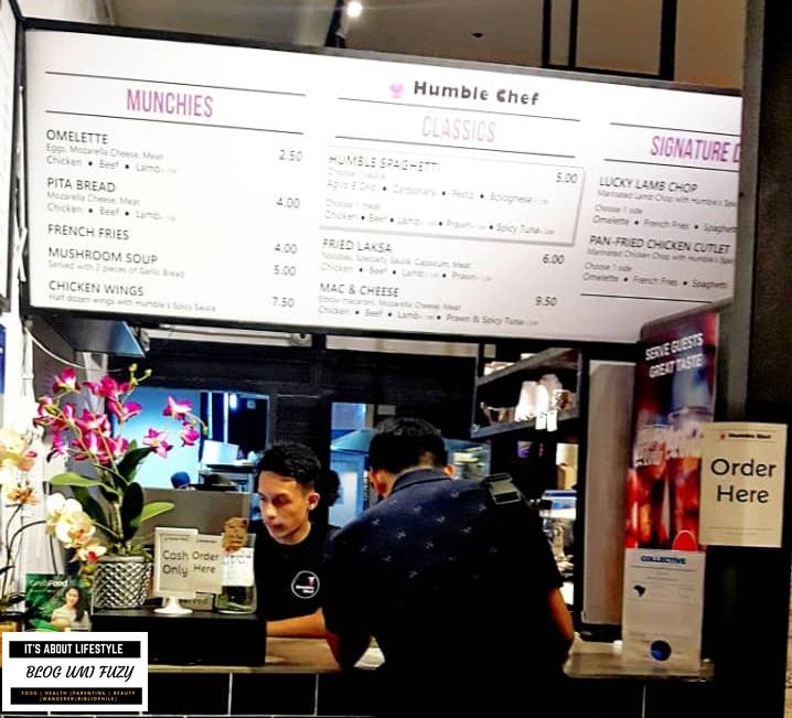 The Humble Chef : Pasta Murah Dan Menyelerakan Dengan Harga Berpatutan