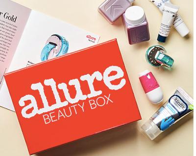 Allure Beauty Box Luxury Samples Blogging Love Frances lovefrances.com