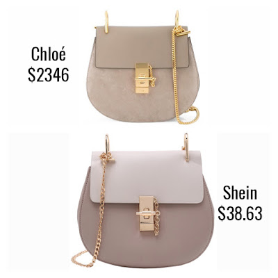 573f7989d Dupe: Shein Contrast Faux Leather Chain Saddle Bag ($38.63) Clearly I am a  little bit obsessed with Chloé bag designs at the moment which is why I ...