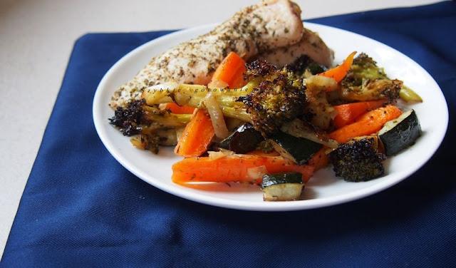 Pieczone warzywa - pyszny dodatek do obiadu