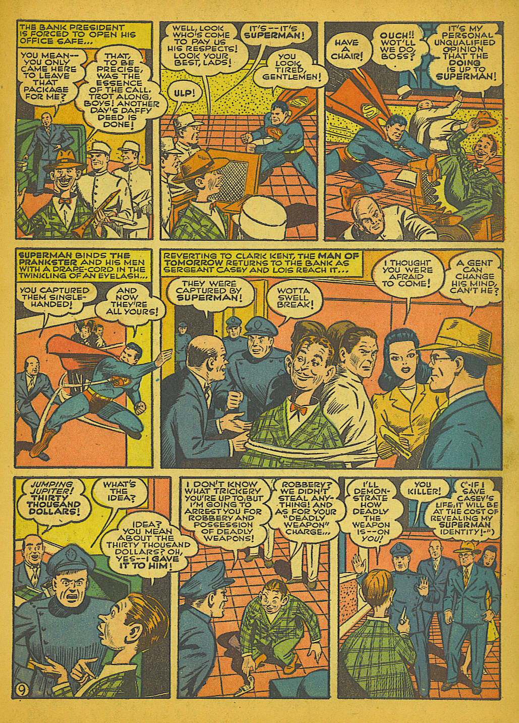 Read online Action Comics (1938) comic -  Issue #51 - 12
