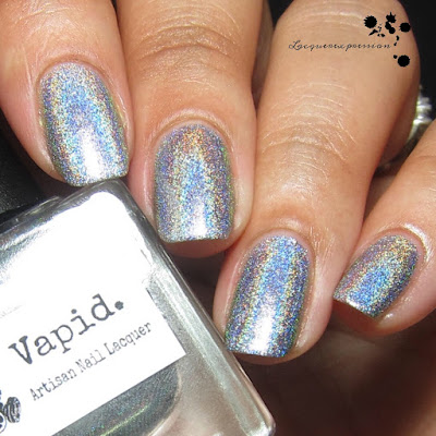 nail polish swatch of ride or die by vapid lacquer
