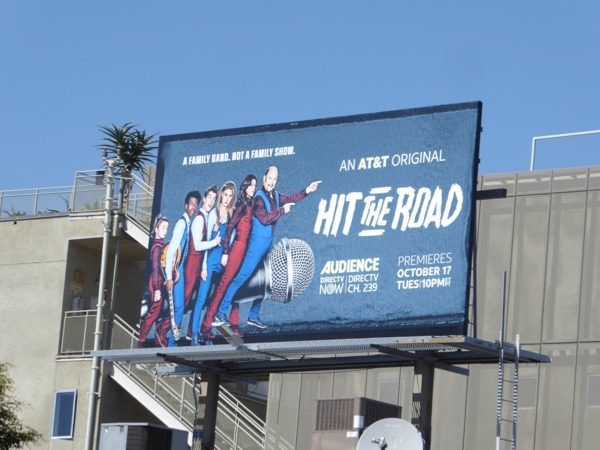 Hit the Road series premiere billboard