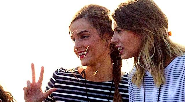 Emma Watson Updates Emma Watson Is At Taylor Swift S Concert In London June 27 2015