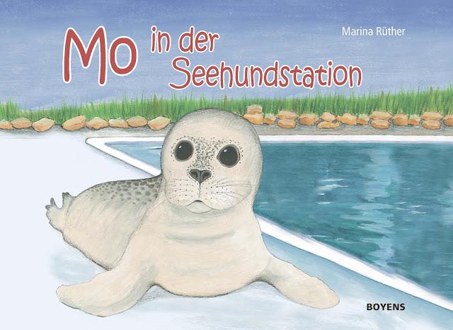 """Das Bücherboot: Kinderbücher aus dem Norden. """"Mo in der Seehundstation"""" ist ein schönes, maritimes  Bilderbuch."""