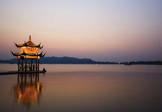 West Lake, Zejiang Province+