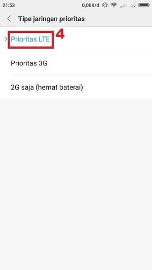 Prioritas LTE
