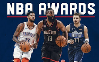 NBA awards 2019 nominees confirmed, James Harden, Giannis Antetokounmpo, Paul George in MVP List.