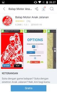 Download Game Balap Motor Anak Jalanan [GRATIS]