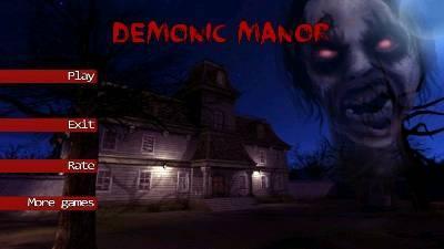 Demonic Manor, Game Hantu Android Terseram Melebihi Slendrina