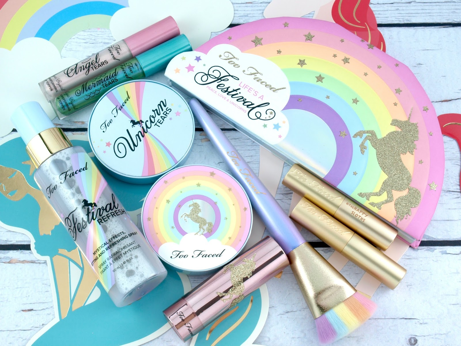 Too Faced | Life's A Festival Collection: Review and Swatches