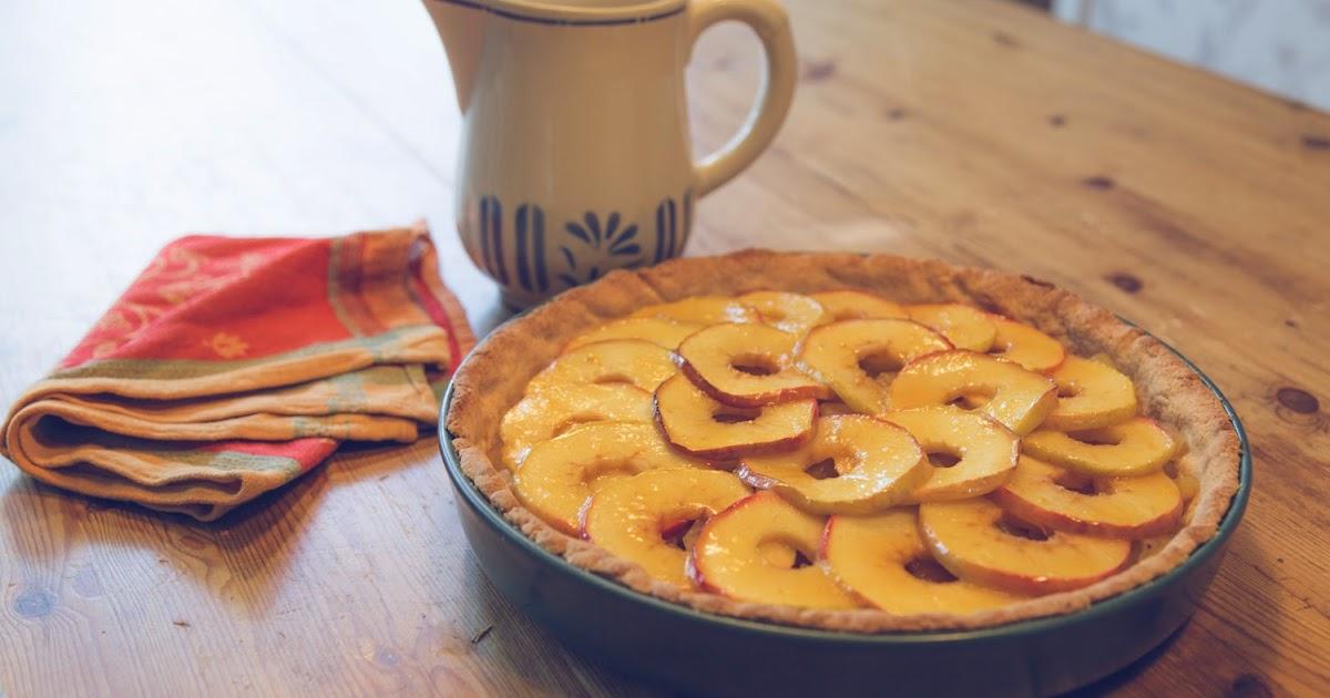 Glutenfri äppelpaj