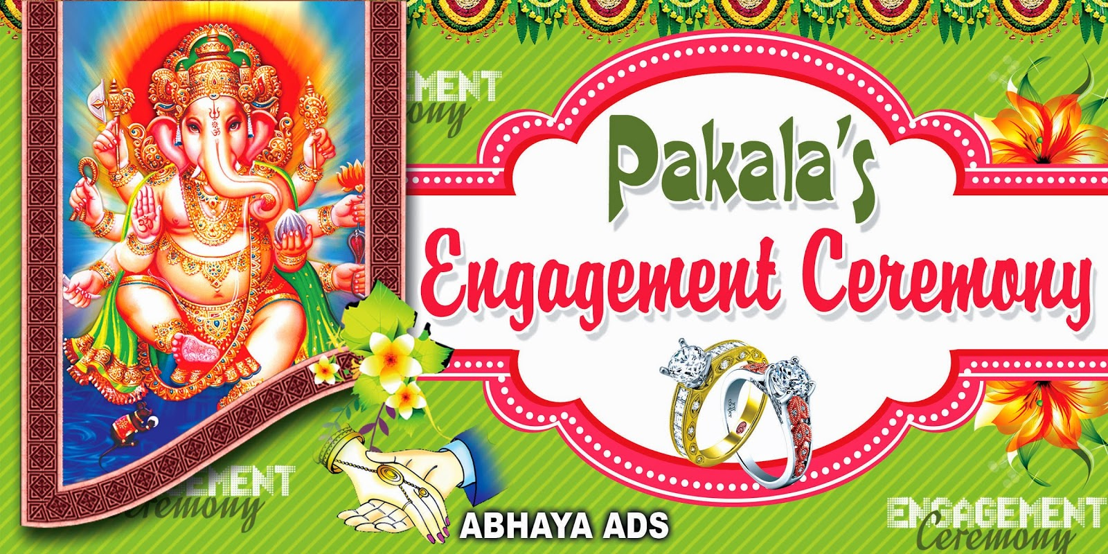 indian wedding flex banners template images free samples