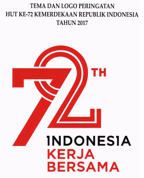 tema dan logo peringatan hut proklamasi