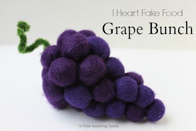 Grape - Uva de feltro
