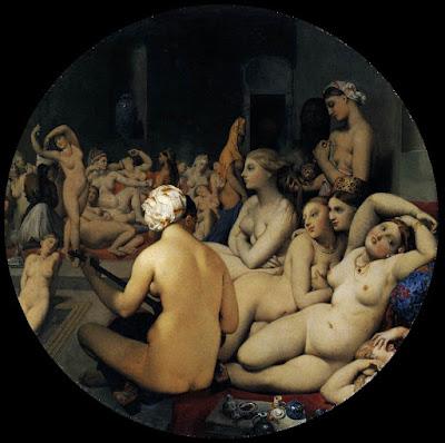 Ingres - Le bain turc,1862 ( 82 ans )