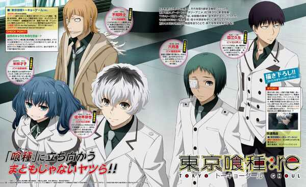 Tokyo Ghoul:re Batch Subtitle Indonesia