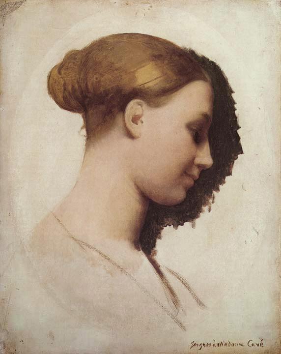 Madame Clement Boulanger - Ingres e suas principas pinturas ~ Neoclassicismo