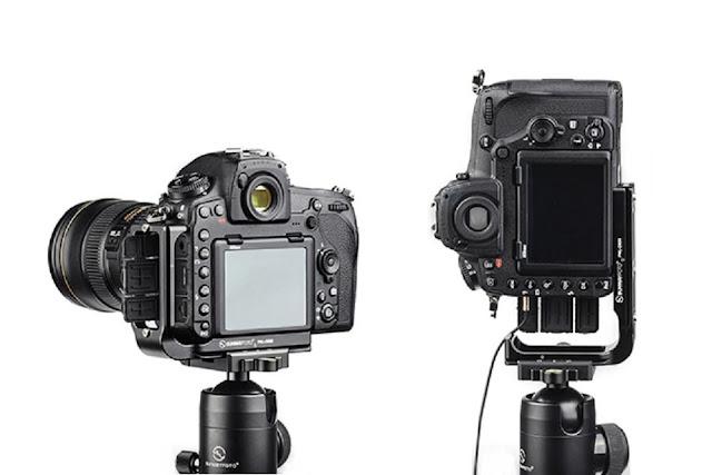 Sunwayfoto PNL-D850 on Nikon D850 landscape and portrait II