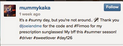 31f7b694285 She says her Firmoo sunnies became her BFF this summer season since it s so  sunny!