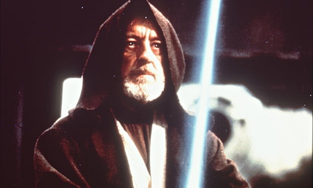 Alec Guinness as Obi Wan Kenobi in Star Wars … is he really a Hindu?