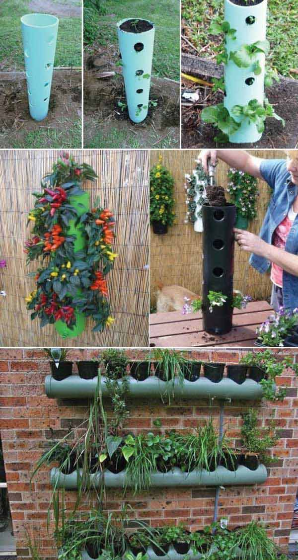 Gardening Projects With Pvc Pipes Boo Gardening