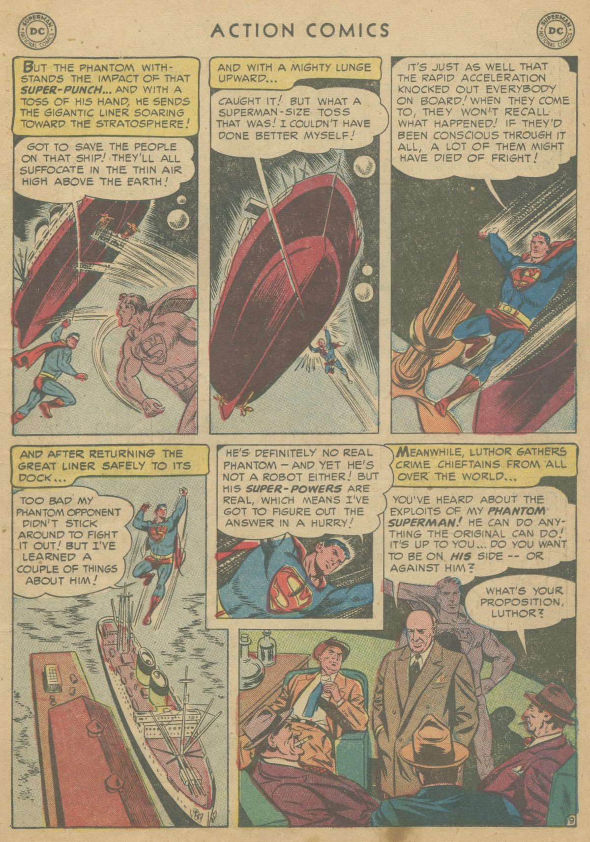 Read online Action Comics (1938) comic -  Issue #199 - 12