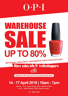 O.P.I Warehouse Sale nail polish
