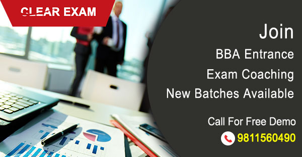 BBA Entrance Exam Coaching