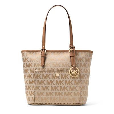 MICHAEL Michael Kors Jet Set Travel Medium Tote for only $88 (reg $158)