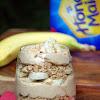 Peanut Butter And Banana Healthy Parfait Recipe