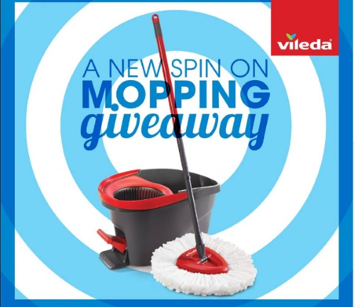 Vileda New Spin On Mopping Giveaway