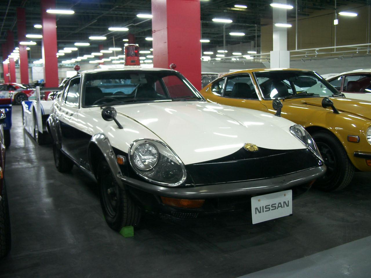 Auto Design Recreated: 1970 DATSUN 240Z Police Car...JDM!