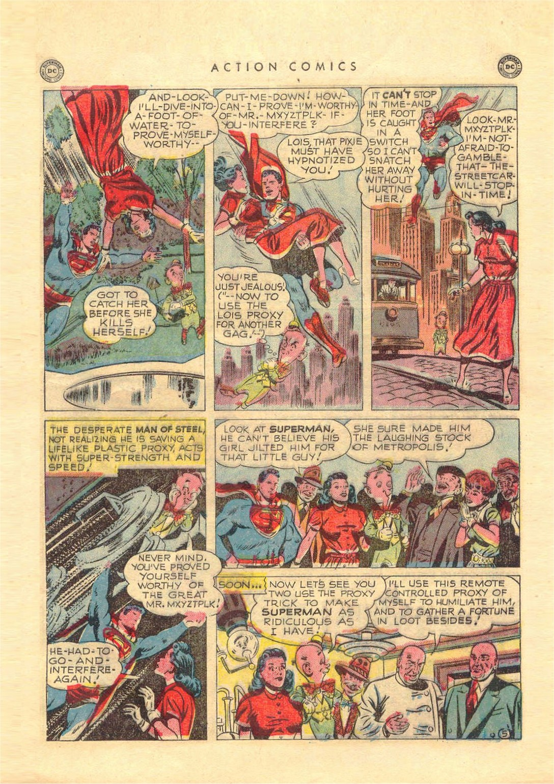 Read online Action Comics (1938) comic -  Issue #151 - 6