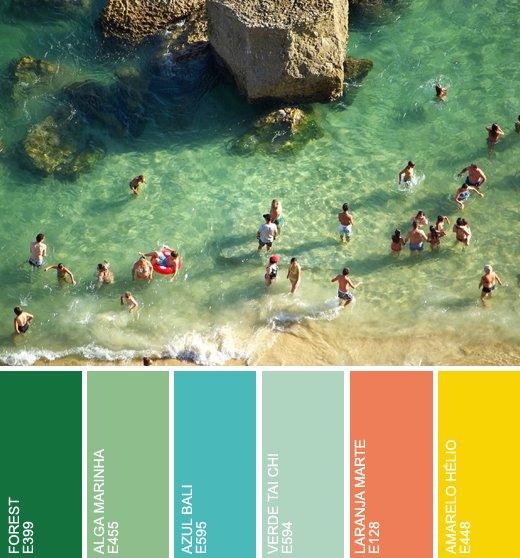 L Univers D Inès Mediterranean Style: L'Univers D'Inès: TODAY I LOVE: SUNNY COLORS