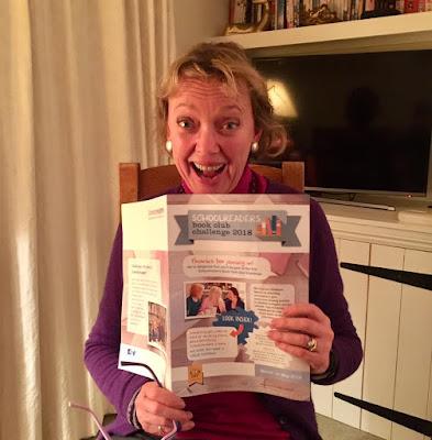 Author Sophie Neville advocating Schoolreaders' Book Club Challenge
