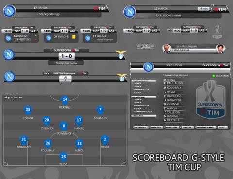 PES 2017 SuperCoppa Scoreboard by G-Style