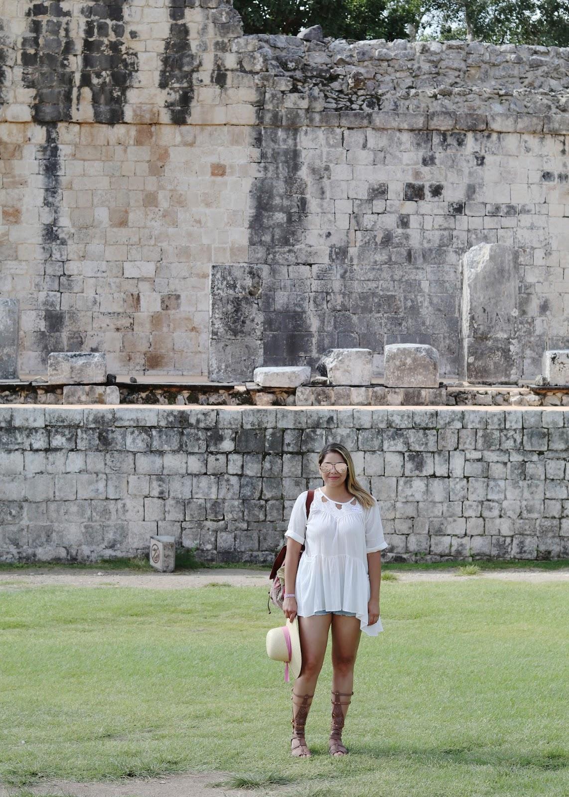 chicwish top, mexican blogger, chichen itza mayan ruins