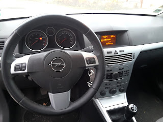 Opel / Vauxhall Astra H facelift dashboard