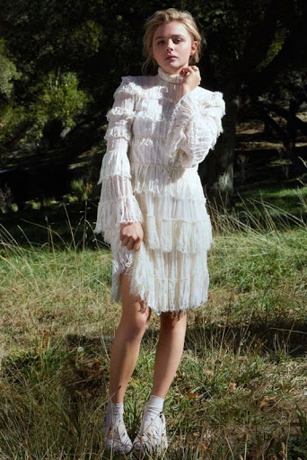 Chloe Grace Moretz Marie Claire Magazine US February 2016 Model Photo Shoot