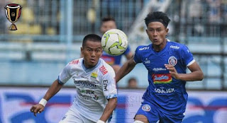 Hasil Arema FC vs Persib Bandung 2-2 Piala Indonesia