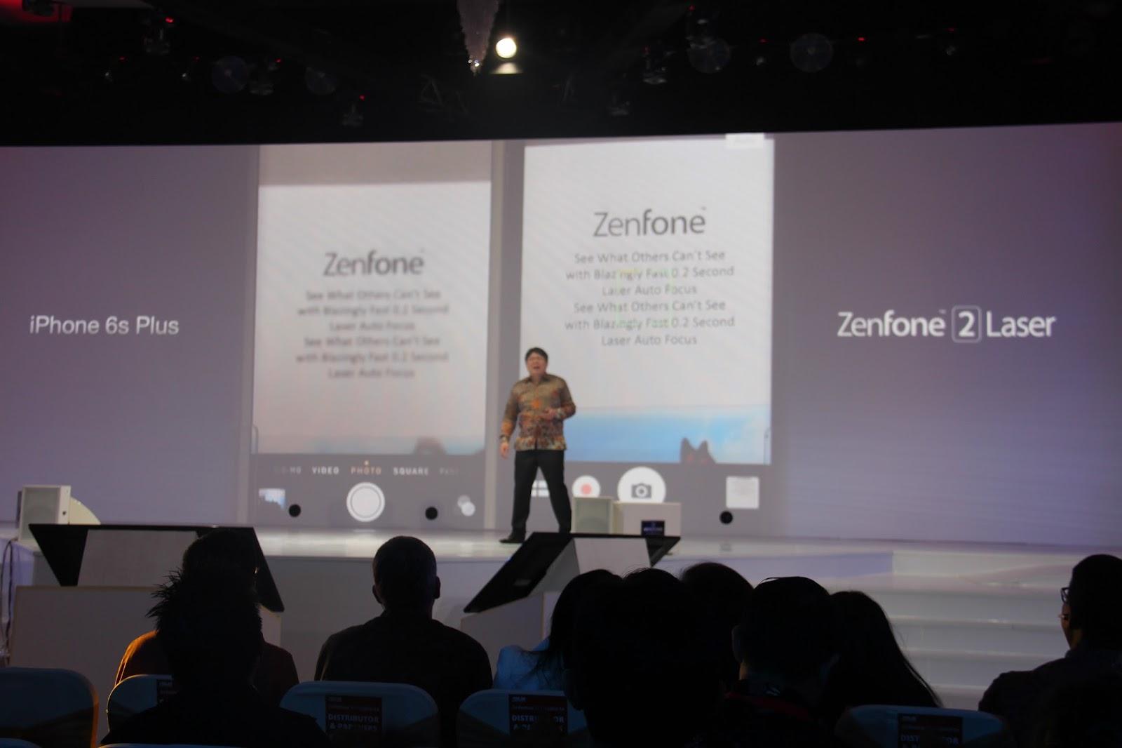 Kecanggihan Kamera 13Mp Zenfone 2 Laser 4G