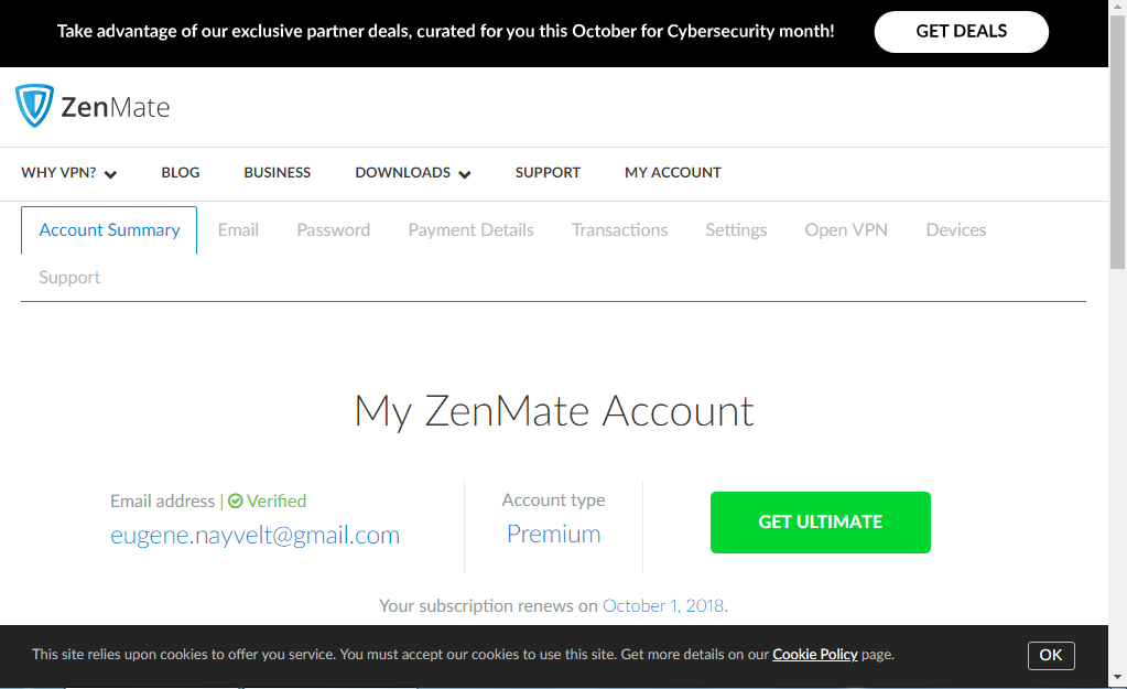 Zenmate premium account 2018   ZenMate VPN Premium 2 6 0 APK