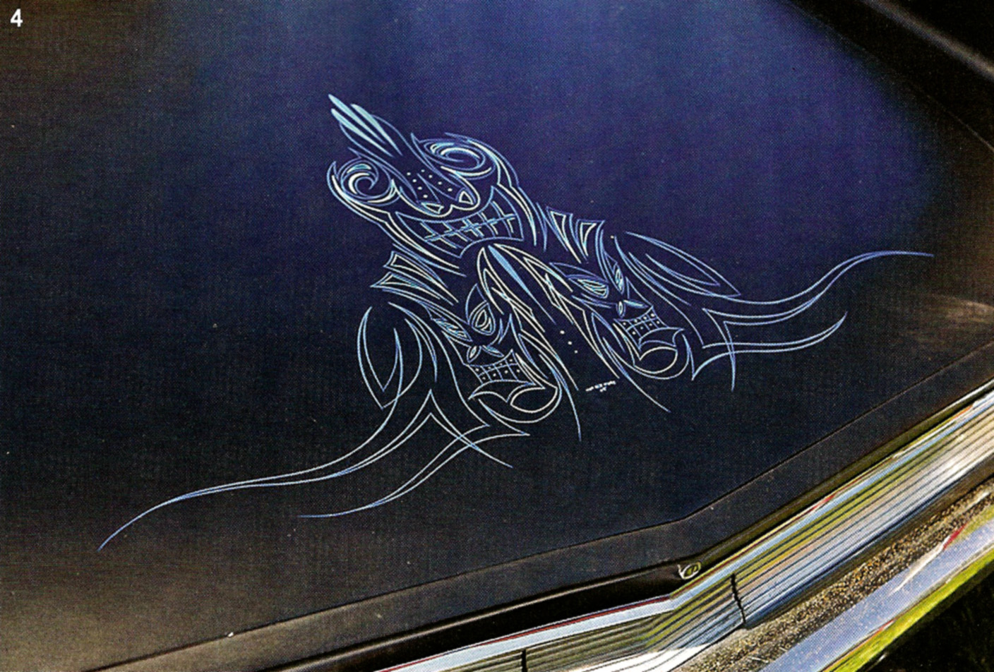 Classic Cars Authority Hot Rod Magazine Finally Covers Some Pinstriping About Time They Have Ignored It For About 40 Years
