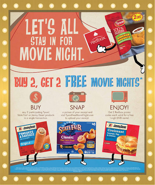 Enjoy #TysonFreeMovieNight By Shopping At Walmart!
