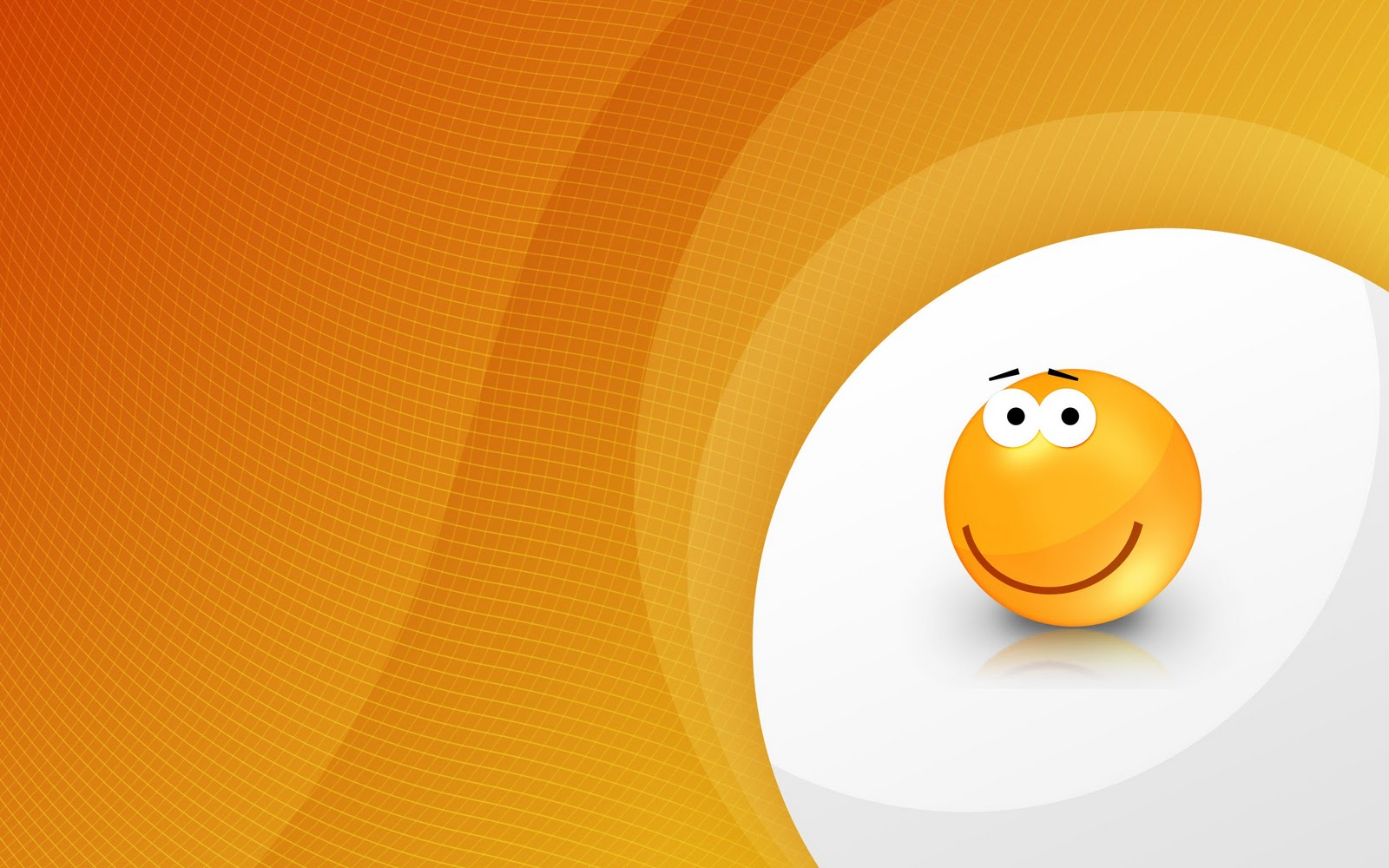 Smiley Full Hd Wallpaper And Achtergrond: Oranje Achtergronden