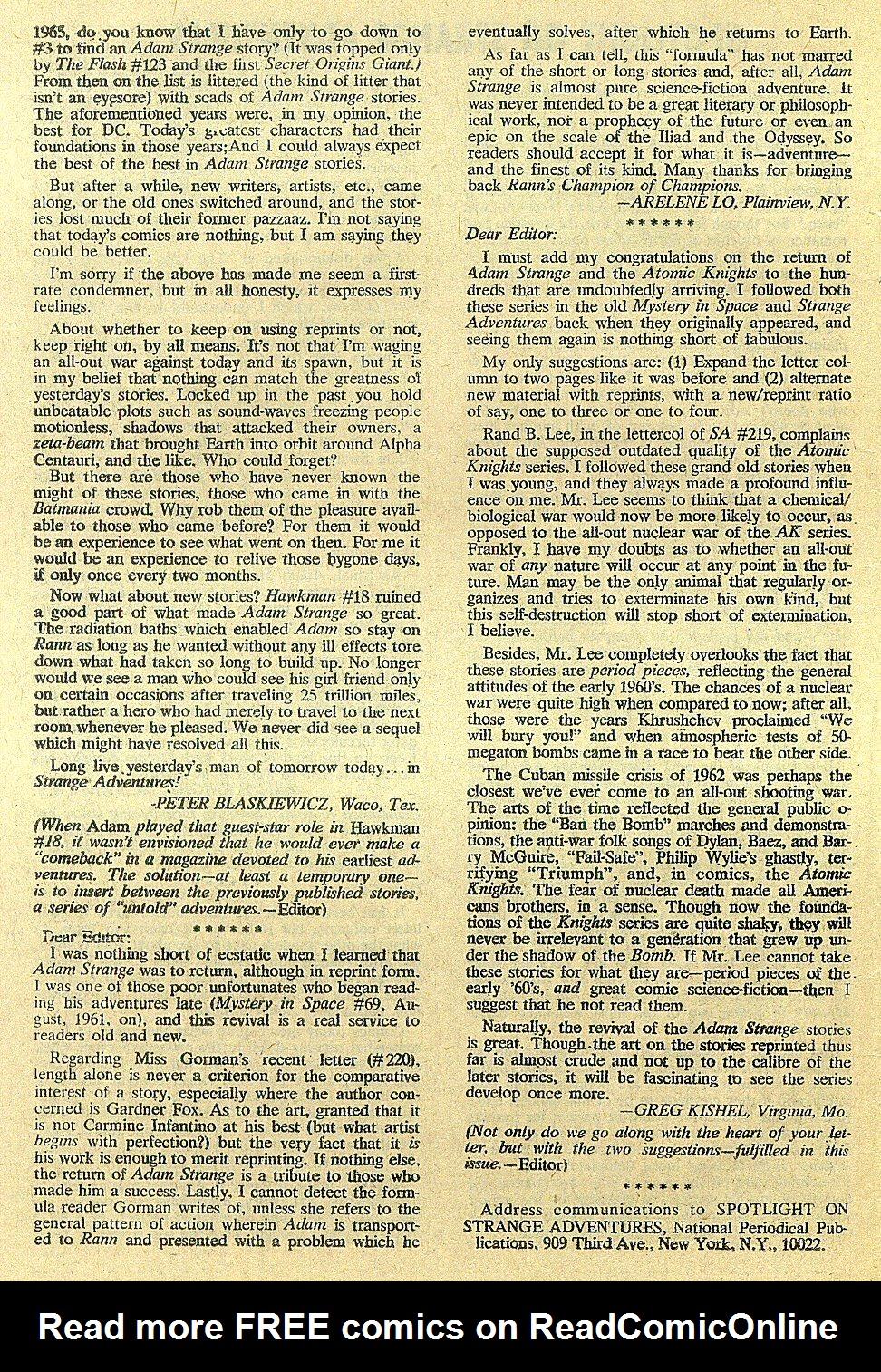 Strange Adventures (1950) issue 222 - Page 34